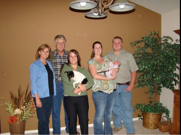 kayla and family