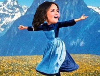 Lisa Wilkinson just rivalled Lady Gaga in a Sound of Music tribute.