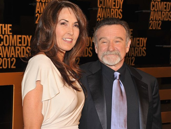 robin williams and susan