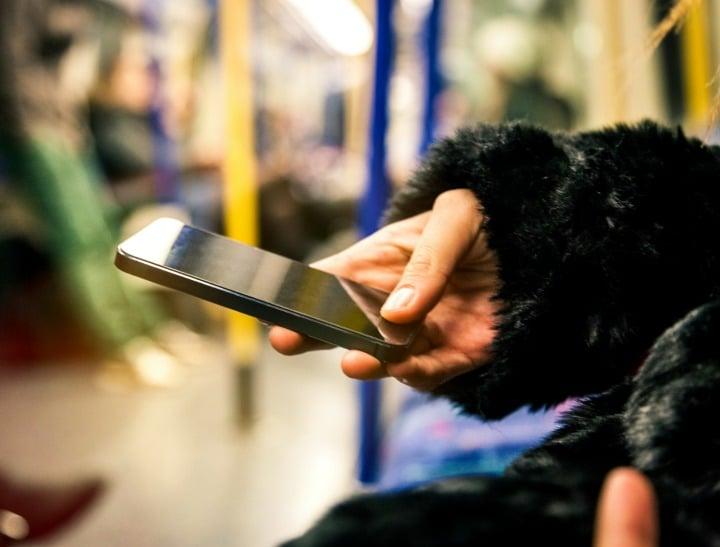 texting phone woman secret emotional cheating