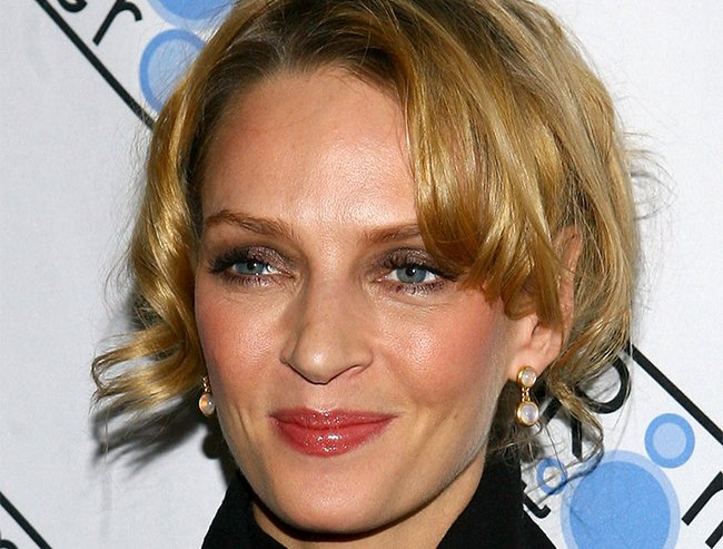 Uma Thurman hits back about plastic surgery rumours.