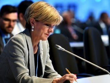 Julie Bishop on why young Australian women are becoming radicalised.