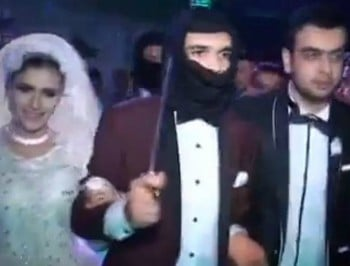 ISIS themed wedding