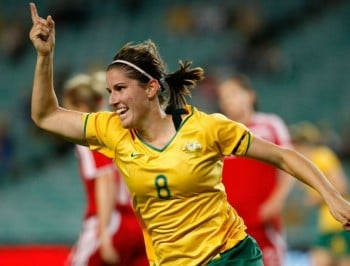 You need to get to know Australian soccer champ, Caitlin Munoz.
