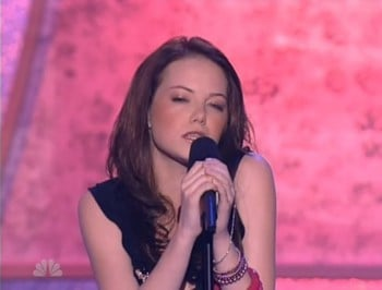 WATCH: 15-year-old Emma Stone was on a reality singing competition.