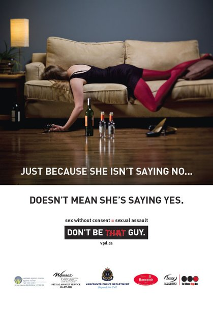 dont be that guy campaign