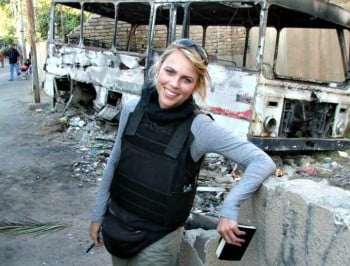 Sad news. Reporter Lara Logan is back in hospital after a brutal 2011 gang rape.
