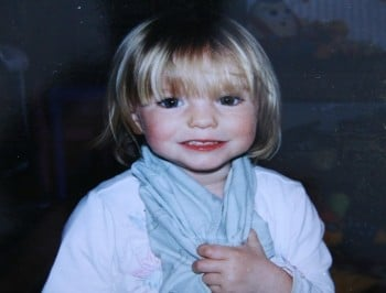 Madeleine Mccann getty FI