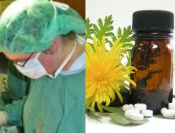Medicine vs natural remedies feature.