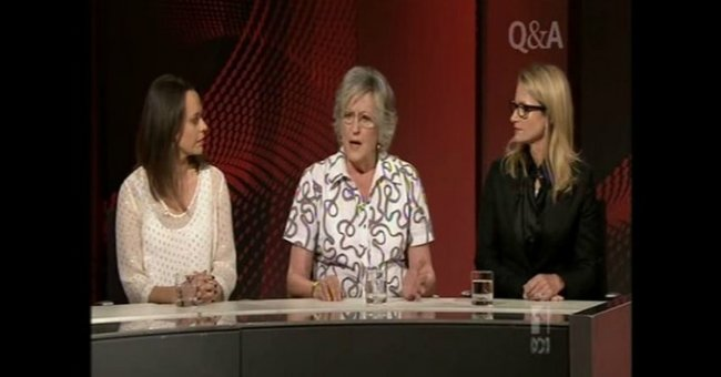 Mia and Germaine Greer FB resize