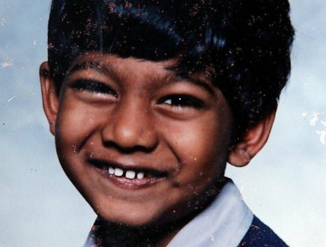 Myuran Sukumaran as a kid