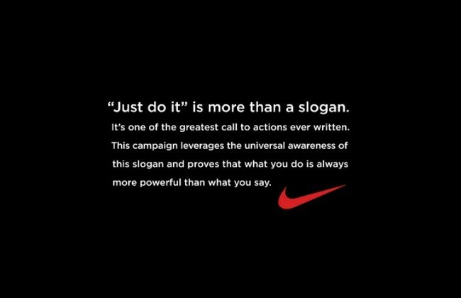 Nikes Just Do It campaign came from murderer. Okay.