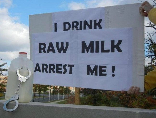 Raw Milk poster feature