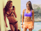 Two controversial Australian fitness bloggers are at war.