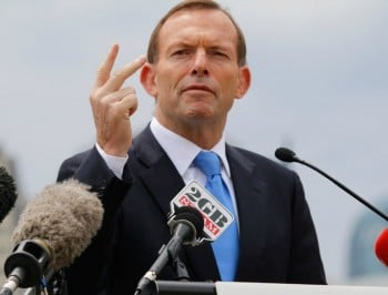 Tony Abbott rules out same sex marriage referendum.
