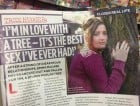 A woman is planning to marry a tree, claims it's the 'best sex ever'.