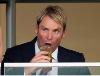 Thanks, Shane Warne for being the gross uncle at the party.