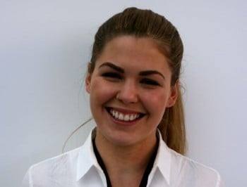 Belle Gibson in Cupertino. (Photo: Stephen Fenech)