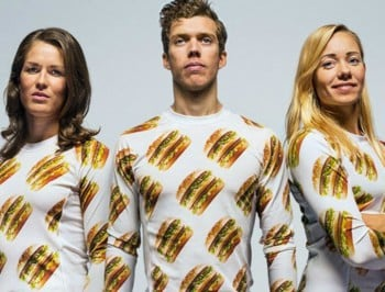 You can now wear a Big Mac all over your body. Our inner sartorialist is salivating.