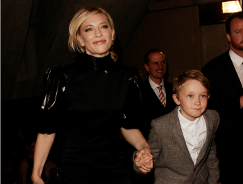 Cate Blanchett is in trouble for saying she named her son after a sex offender.