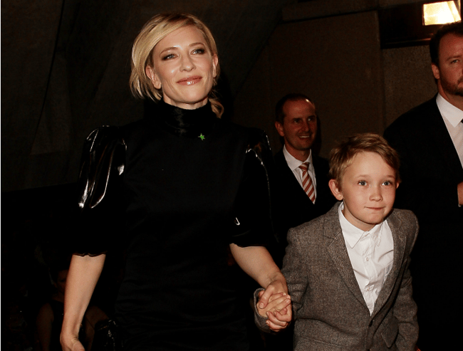 cate blanchett son's name
