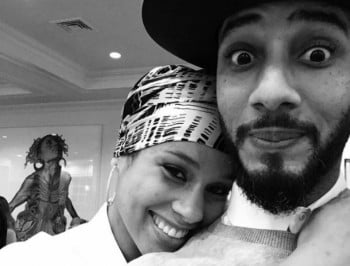 Alicia Keys shares stunning first-time photo of newborn baby