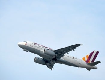 The touching moment a Germanwings pilot reassured his passengers he would get them home.