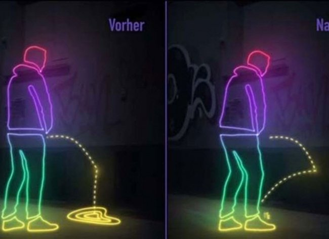 german town urine walls repellent