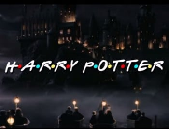 This Harry Potter and Friends mashup is everything you would want it to be.