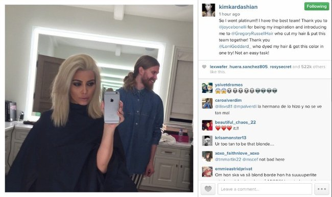 kim hair for poost