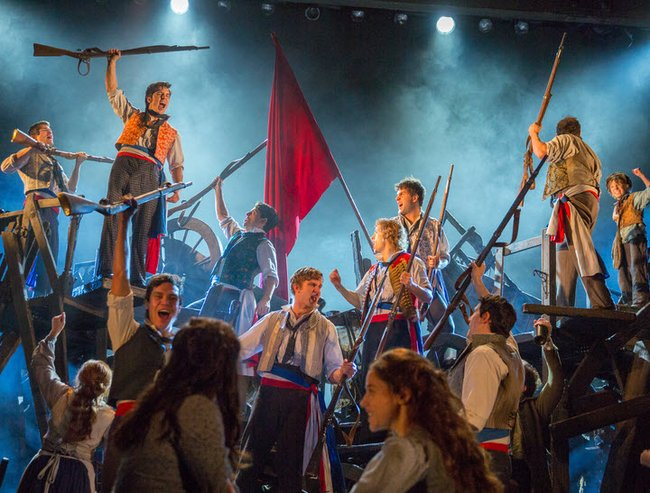 Les Miserables is now showing at the Capitol Theatre in Sydney