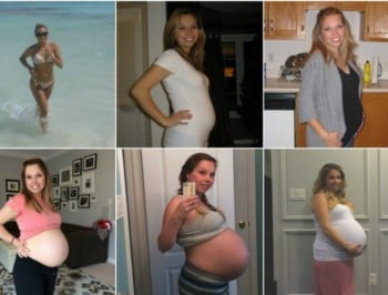 pregnancy collage FEATURE