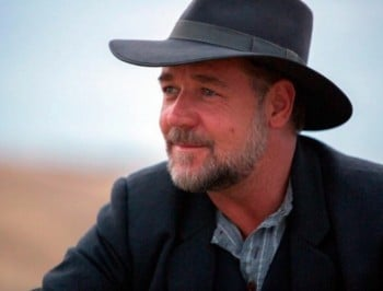 Russell Crowe: Actor and writer of sad stories that involve hats. True story.