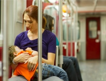 """We need to stop shaming mums who breastfeed past a"