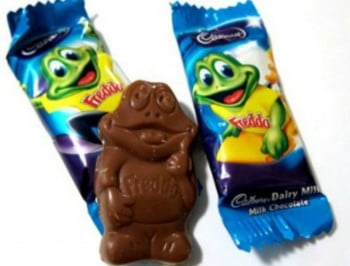 Freddos are now 20 per cent smaller. But they still cost the same amount.
