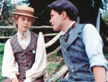 Gilbert Blythe and Anne Shirley feature