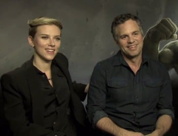 WATCH: Mark Ruffalo is asked all of Scarlett Johansson