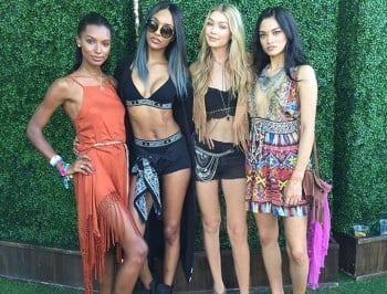 Fringe, denim short-shorts and $3,000 vests. See the absurd celebrity fashion of Coachella.