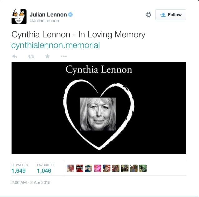 cynthis lennon