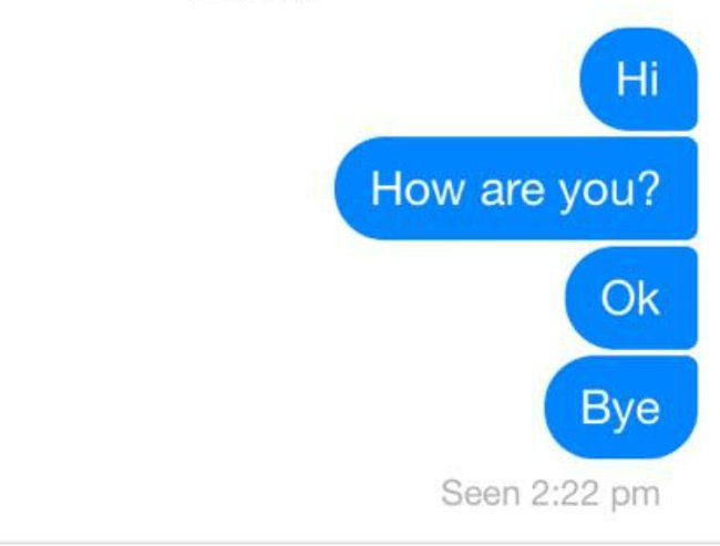 how to know if you have a message on facebook