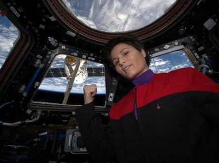 female astronaut feature image