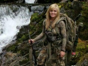 female hunter feature