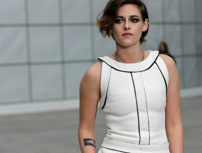 Kristen Stewart is a fashion icon.