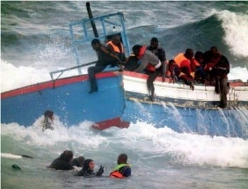 "The ""most catastrophic maritime tragedy since WWII"". Up to 700 feared dead as asylum seeker ship capsizes."
