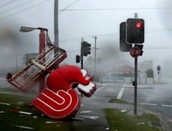 The most hair-raising photos from the NSW storm.