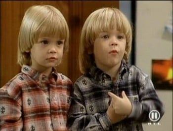 twins from full house now