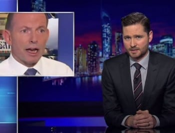 Charlie Pickering just obliterated Tony Abbott