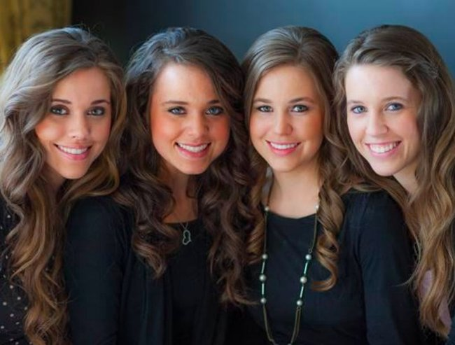 Eldest duggar girls