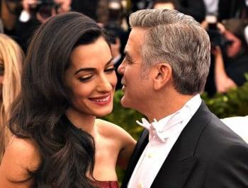 Both George and Amal Clooney have opted out of social media.