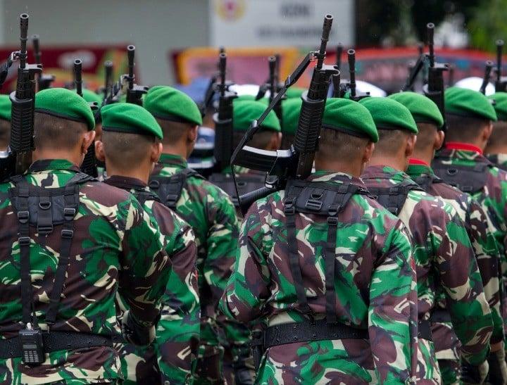 Indonesian military FI